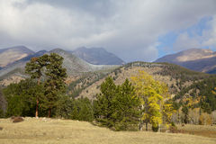 Mountain Vista in Fall Stock Image