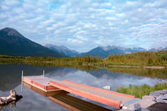 Mountain Vista,Vermillion Lakes,Banff,Alberta. Stock Image