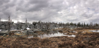 Mountain Vottovaara, Karelia, Russia Stock Images