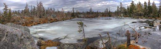 Mountain Vottovaara, Karelia, Russia Royalty Free Stock Image