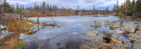Mountain vuottovaara, Karelia, Russia Stock Photos