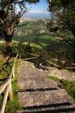Mountain walk Stock Photo