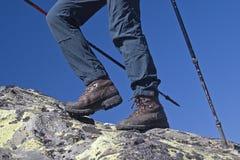Mountain walking Royalty Free Stock Photo
