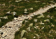 Mountain walkway Royalty Free Stock Images