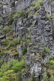 Mountain wall Stock Images