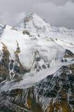 Mountain wall in Tajikistan Stock Image