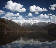 Mountain and water Stock Photos