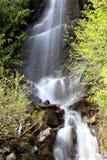 Mountain water falls Stock Photos