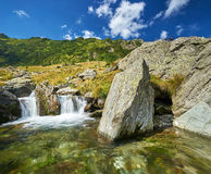 Mountain Water Landscape Stock Images