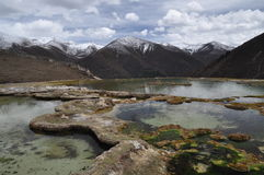 Mountain and water Stock Images