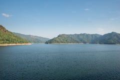 Mountain water source, back of Khun Dan Prakan Chon Dam, Nakhon Nayok, Thailand royalty free stock photos