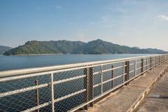 Mountain water source, back of Khun Dan Prakan Chon Dam, Nakhon Nayok, Thailand royalty free stock image