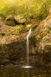 Mountain Waterfall. Mountain stream and waterfall Stock Image