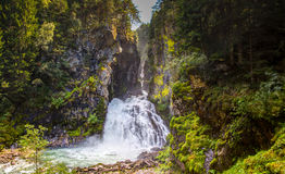Free Mountain Waterfall Royalty Free Stock Image - 98049466