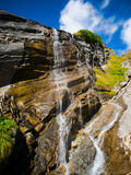 Mountain Waterfall. Beautiful little Waterfall in Austria Stock Images