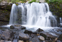 Mountain Waterfall in Cololrado Stock Photos