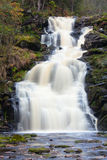 Mountain waterfall. fast stream water Stock Photo