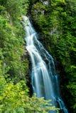 Mountain waterfall in Highlands, Drumnadrochit Royalty Free Stock Image