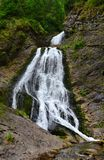 Mountain waterfall Royalty Free Stock Photos