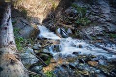 Mountain waterfall in Kazakhstan Stock Photos