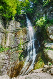 Mountain waterfall landscape Royalty Free Stock Photos