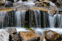 Mountain Waterfall Stock Photo