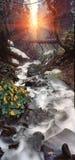 Mountain waterfall Stock Photos