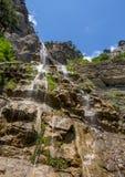 Mountain waterfall Uchan-Su, Republic of Crimea Royalty Free Stock Photography