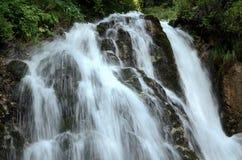 Mountain Waterfall. Urlatoarea Mountain Waterfall, Bucegi, Romania Royalty Free Stock Photo