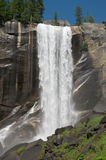 Mountain waterfall in Yosemite Royalty Free Stock Image
