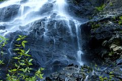 Mountain Waterfalls Stock Photography
