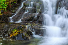 Mountain waterfalls in the Transylvanian Alps Royalty Free Stock Images