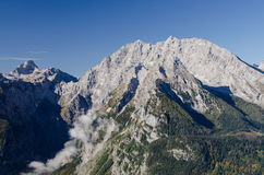 Mountain Watzmann Stock Photo
