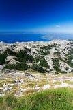 The mountain way in Bikovo Stock Photo