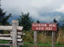 Mountain weather at altitude Royalty Free Stock Photo