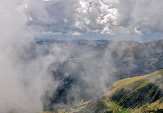 Mountain weather royalty free stock image