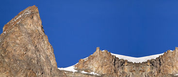 Mountain website banner Royalty Free Stock Images