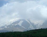 Mountain. Whit cloud Stock Image