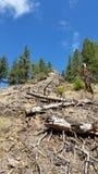 Mountain wilderness landscape Royalty Free Stock Photos