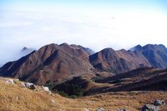Mountain at winter Stock Image