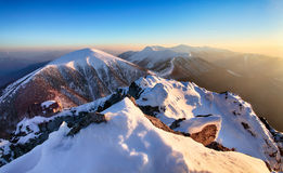 Mountain Winter Royalty Free Stock Images