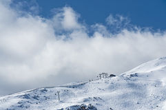 Mountain in winter Stock Photography