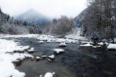 Mountain winter landscape Stock Image