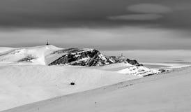 Mountain winter landscape Royalty Free Stock Photos
