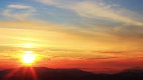 Mountain Winter Landscape stock video footage