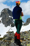 Mountain women Stock Images