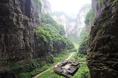 Mountain in wulong ,chongqing,china Stock Photos