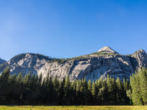 Mountain of Yosemite National Park in California Royalty Free Stock Photos