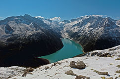 Mountain in the Zillertal Alps Stock Images