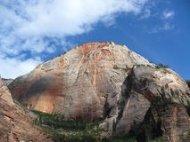 Mountain at Zion national park Stock Photography